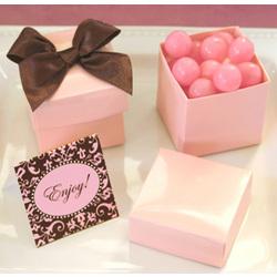 Pink Mini Cube Boxes