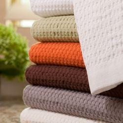 Modern Design Waffle Weave Bath Towel