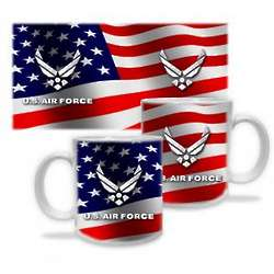 US Air Force Stars and Stripes Mug