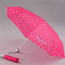 Personalized Sorbet Spots Embroidered Umbrella