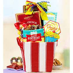 Birthday Delights Sweets Gift Basket