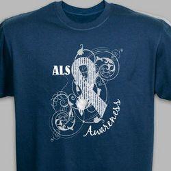 ALS Awareness Ribbon T-Shirt