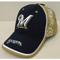 Brewers Mens Vanguard Baseball Cap