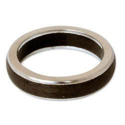 Men's Moon Hero Wood Ring