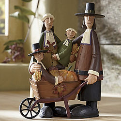 Pilgrims Pride and Joy Harvest Figurine