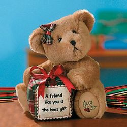 A Friend Like You is the Best Gift Christmas Teddy Bear