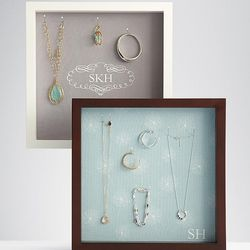 Hanging Wall Jewelry Display Case