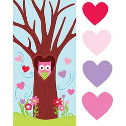 Valentine's Day Owl Decorating Activity Kit