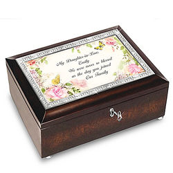 Personalized Music Box for Daughter in Law