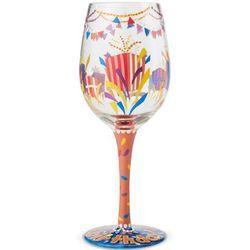 Happy Birthday 2018 Wine Glass