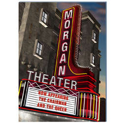 Personalized Night Movie Theatre Sign