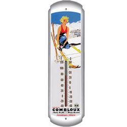 Teleski Combloux Ski Thermometer