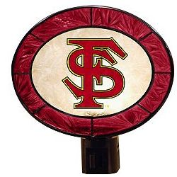 Florida State University Seminoles Art Glass Night-Light
