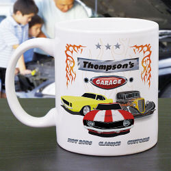 My Garage Personalized Coffee Mug