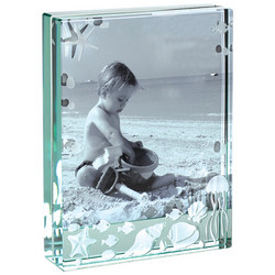 Sea Life Glass Photo Frame