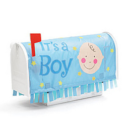 It's a Boy Mailbox Cover