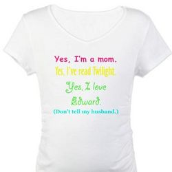 Twilight Mom Maternity T-Shirt