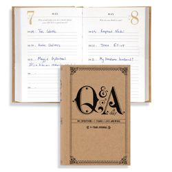 Q&A a Day Five-Year Journal