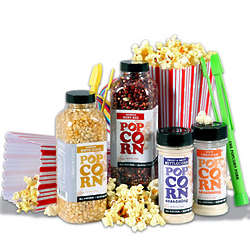 Night at the Movies Popcorn Gift Basket