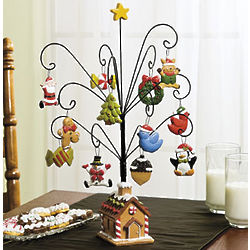Gingerbread Ornaments and Tree