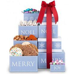 Noel Holiday Gourmet Gift Tower