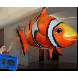 Remote Control Flying Clownfish Toy