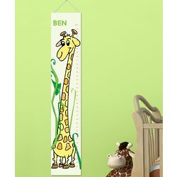 Personalized Height Chart Canvas