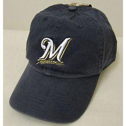 Brewers Mens Navy Baseball Cap