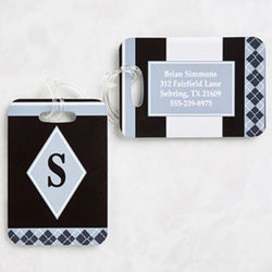 Frequent Flyer Personalized Luggage Tags
