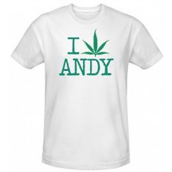 Weeds I Pot Leaf Andy Men's T-Shirt