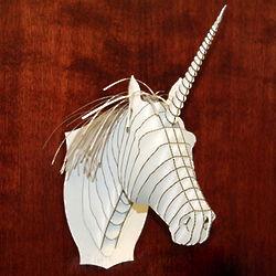 Unicorn Bust Wall Hanging