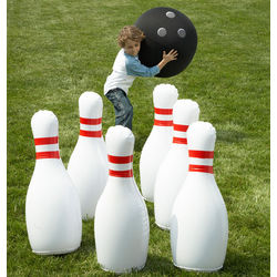 Indoor and Outdoor Giant Inflatable Bowling Game
