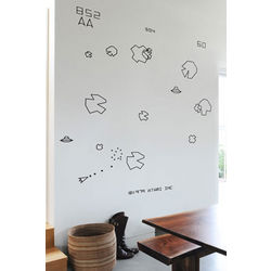 Asteroids Re-Stick Wall Graphics