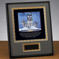 Power of a Leader Framed Award