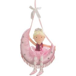 Wall-to-Wall Fun Plush Ballerina on Moon