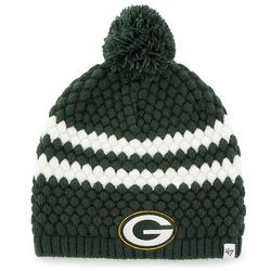 Lady's Green Bay Packers Knit Beanie