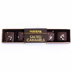 2 Boxes of Mayana Chocolate Salted Caramel Candies