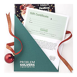 Problem Solvers Gift Certificate