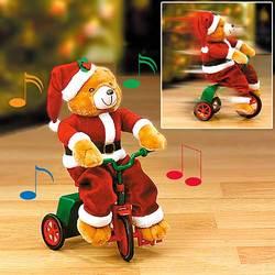 Musical Tricycle Santa Bear