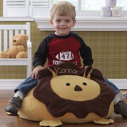 Personalized Lion Bean Bag Chair