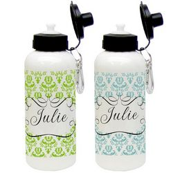 Beautiful Brocade Aluminum Water Bottle