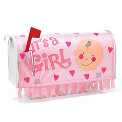 It's a Girl Mail Box Cover