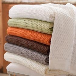 Modern Design Waffle Weave Bath Sheet