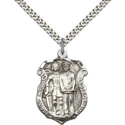 St. Michael the Archangel Engravable Medal