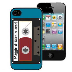 Mixed Tape Personalized iPhone 4 Case