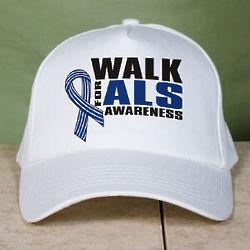 Walk for ALS Awareness Cap