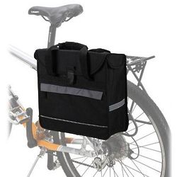 Single Compartment Pannier Bag for Bicycle