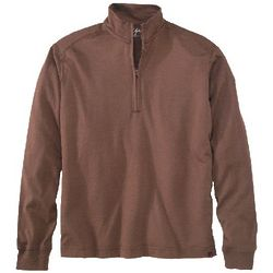 Men's Territory Merino Wool Zip Neck Pullover