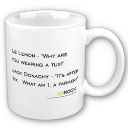 30 Rock Liz and Jack Convo Quote Mug