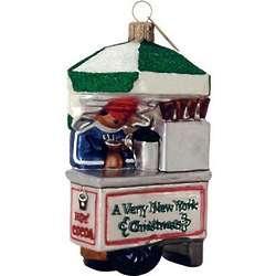 Hot Cocoa Vendor Christmas Ornament